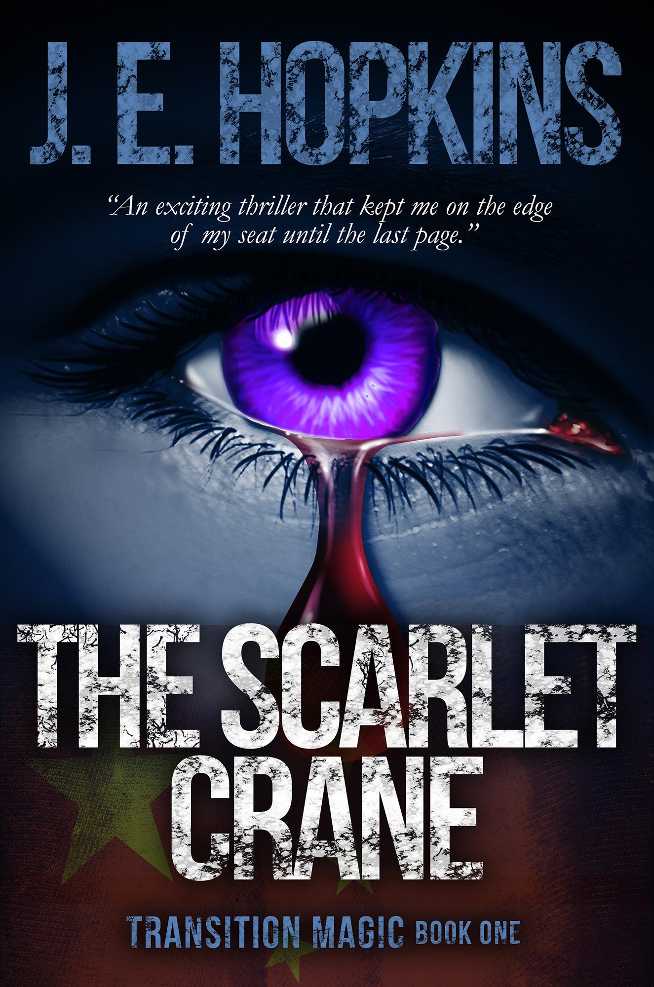 The Scarlet Crane 0421 (Medium)
